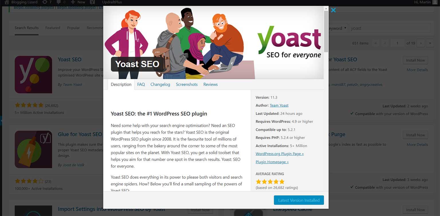 Install-Yoast-plugin