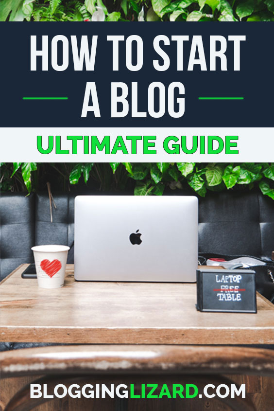 How to start a blog - the ultimate guide to blogging for beginners. Learn how to start a blog with step by step instructions. If you are looking for ways to make money from home, starting a blog is the perfect solution. This guide shows you everything you need to know to get started blogging #startablog #blogging