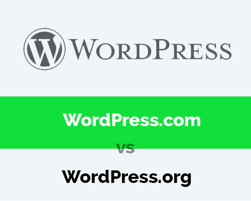 What's the Difference? between WordPress.com-vs-WordPress.org