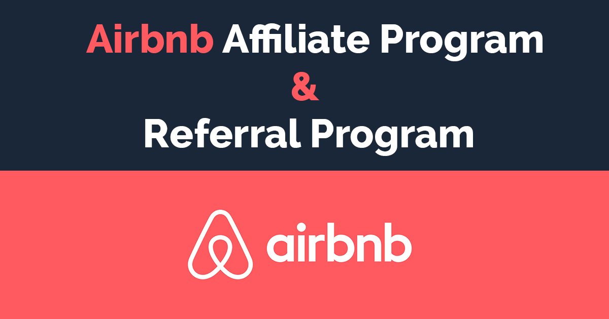 Airbnb affiliate and referral program