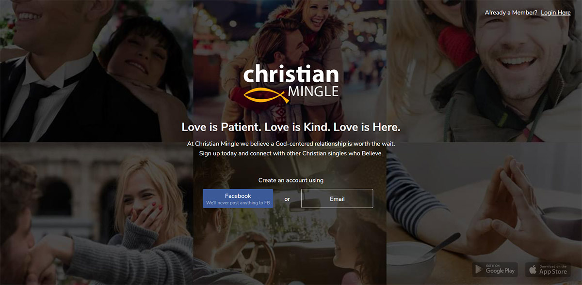 Christian Mingle website